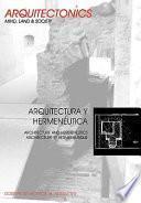 Arquitectura Y Hermenéutica