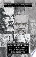 libro Adaptacion Para Lectura Coral De La Apologia De Socrates