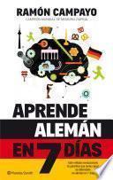 libro Aprende Alemán En 7 Días