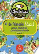 libro Chuletas Para 4o De Primaria