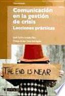 libro Comunicación En La Gestión De Crisis