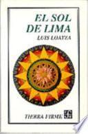 libro El Sol De Lima