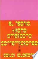 libro El Teatro Hispanoamericano Contemporáneo