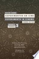 libro Experiments In Cinema Yearbk #