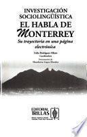 libro Investigación Sociolingüística El Habla De Monterrey