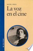 libro La Voz En El Cine