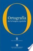 libro Ortografía De La Lengua Española