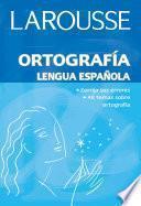 libro Ortografía Lengua Española