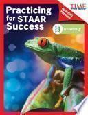 libro Time For Kids® Practicing For Staar Success: Reading: Grade 3 (spanish Version)