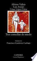 libro Tres Comedias De Miedo