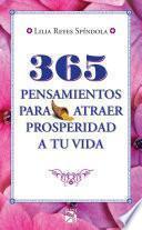 libro 365 Pensamientos Para Atraer Prosperidad A Tu Vida