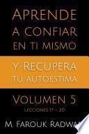 libro Aprende A Confiar En Ti Mismo Y Recupera Tu Autoestima, Vol. 5