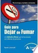 libro Guia Para Dejar De Fumar