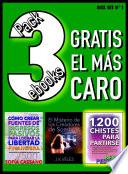 libro Pack 3 Ebooks, Gratis El Más Caro