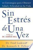 libro Sin Estres De Una Vez