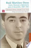 libro Raúl Martínez Ostos