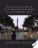 libro Vicencias Y Recuerdos De 15 De Enero De 1933 Hasta El 31 De Octubre 2014