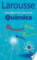 libro Diccionario Esencial Química