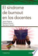 libro El Síndrome De Burnout En Los Docentes