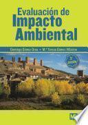 libro Evaluacion De Impacto Ambiental