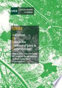 libro Ideas. Iniciativas De Educación Ambiental Para La Sostenibilidad