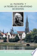 libro La Filosofia Y La Teoria De La Relatividad De Einstein