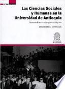 libro Las Ciencias Sociales Y Humanas En La Universidad De Antioquia