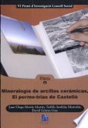 Mineralogía De Arcillas Cerámicas