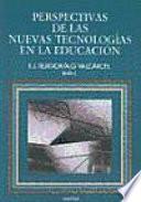 libro Perspectivas De Las Nuevas Tecnologías En La Educación
