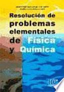 libro Resolución De Problemas Elementales De Física Y Química