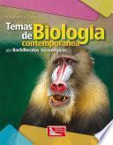 libro Temas De Biología Contemporánea Para Bachilleratos Tecnológicos