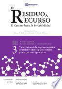 libro Valoración De La Fracción Orgánica De Residuos Municipales: Materia Prima, Proceso Y Producto Iii.3