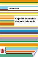 libro Viaje De Un Naturalista Alrededor Del Mundo (low Cost). Edición Limitada