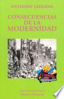 libro Consecuencias De La Modernidad