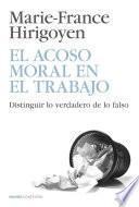 libro El Acoso Moral En El Trabajo