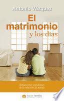 libro El Matrimonio Y Los Días