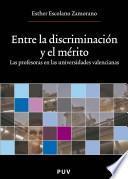 libro Entre La Discriminación Y El Mérito