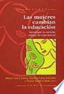 libro Las Mujeres Cambian La Educación