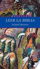 libro Leer La Biblia