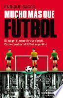libro Mucho Más Que Fútbol