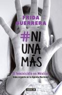 libro #niunamás