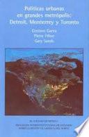 libro Políticas Urbanas En Grandes Metrópolis