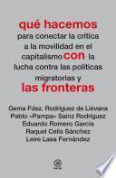 libro Qué Hacemos Con Las Fronteras