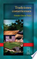 libro Tradiciones Costarricenses