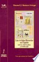 libro Las Revistas Literarias En España Entre La Edad De Plata Y El Medio Siglo