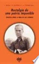libro Nostalgia De Una Patria Imposible