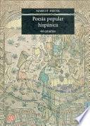 libro Poesía Popular Hispánica