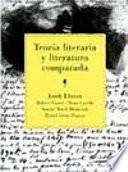 libro Teoría Literaria Y Literatura Comparada