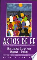 libro Actos De Fe (acts Of Faith)