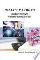 libro Balance Y Armonía, Restableciendo Nuestra Energía Vital